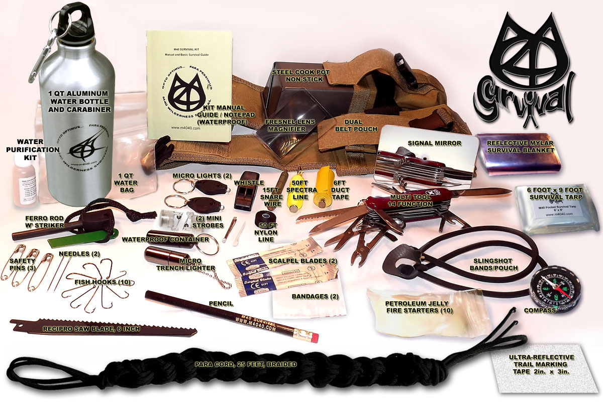 Wilderness survival kit list jobs