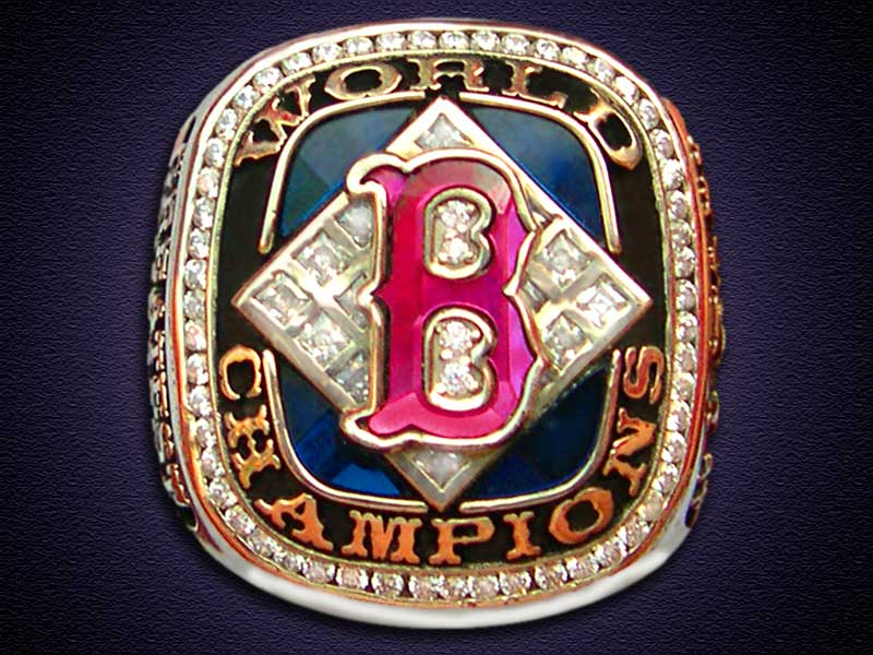 RED SOX WALLPAPER RENDERINGS One Of The World Series Rings That They Are Raffling Off Touched It Up And Made Into An 800x600 Wallpaper